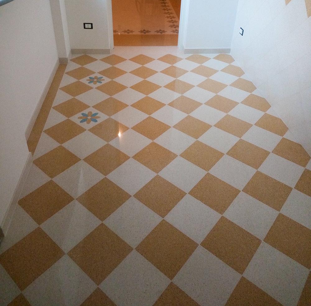 Marti pavimenti a spongano photogallery realizzazioni piastrelle in graniglia di cemento - Piastrelle di graniglia ...