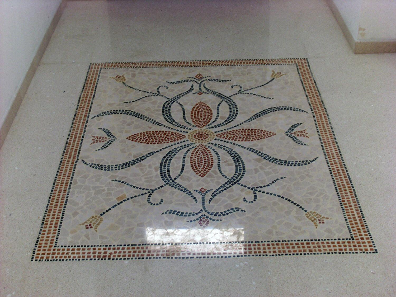 graniglia mosaico pavimenti decori